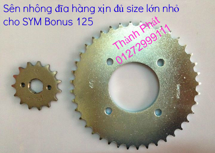 Chuyen phu tung zin va Sen Nhong Dia Honda CB250 CB125 RebeL LA 250 CD125 Yamaha Virago - 35