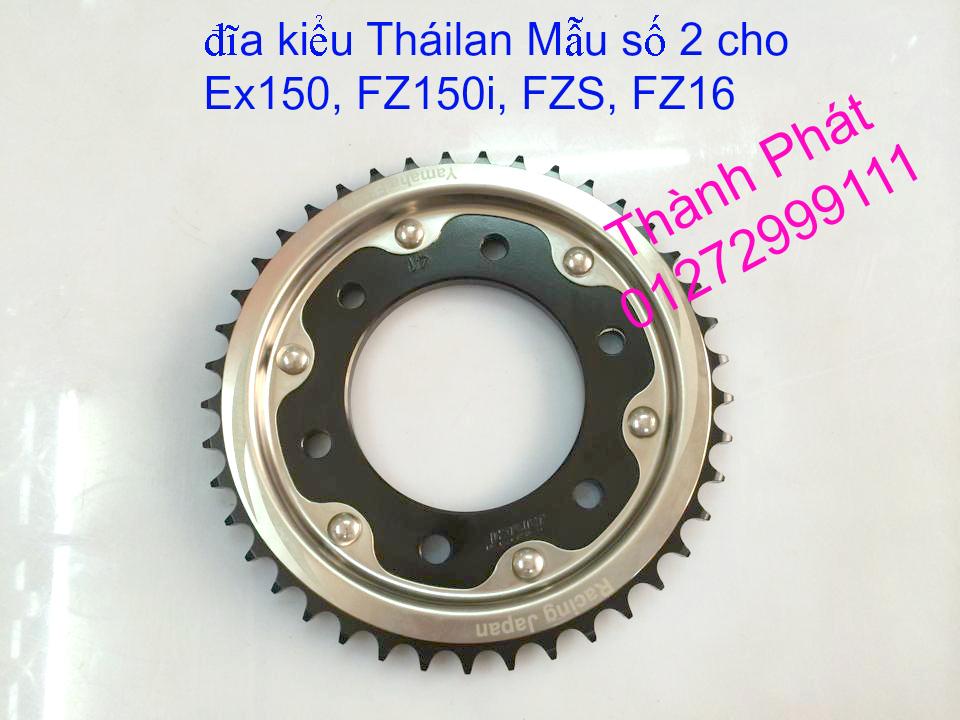 Chuyen phu tung zin va Sen Nhong Dia Honda CB250 CB125 RebeL LA 250 CD125 Yamaha Virago - 18