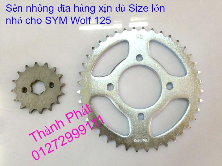 Chuyen phu tung zin va Sen Nhong Dia Honda CB250 CB125 RebeL LA 250 CD125 Yamaha Virago - 33