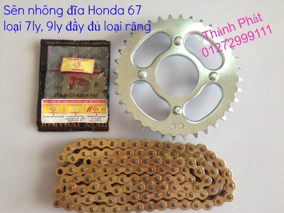 Chuyen phu tung zin va Sen Nhong Dia Honda CB250 CB125 RebeL LA 250 CD125 Yamaha Virago - 36