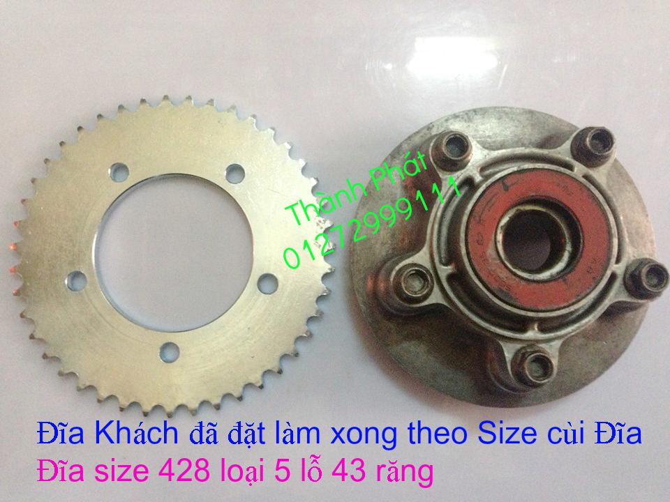 Chuyen phu tung zin va Sen Nhong Dia Honda CB250 CB125 RebeL LA 250 CD125 Yamaha Virago - 49