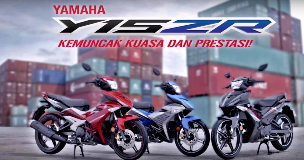 Clip Quang Cao Yamaha Y15ZR 2015 tai Malaysia