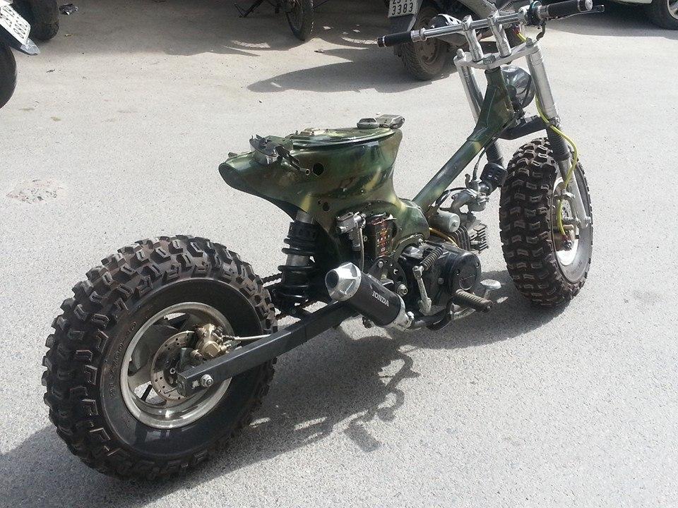 Cub do nhung phien ban an tuong cua Minibike Trung Khanh HN