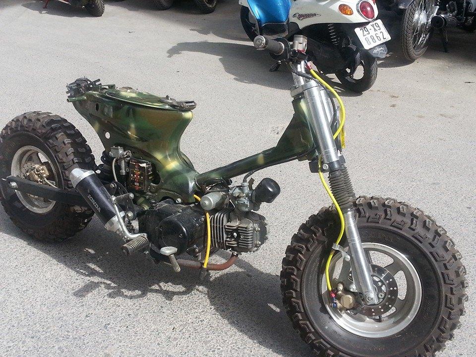 Cub do nhung phien ban an tuong cua Minibike Trung Khanh HN - 2