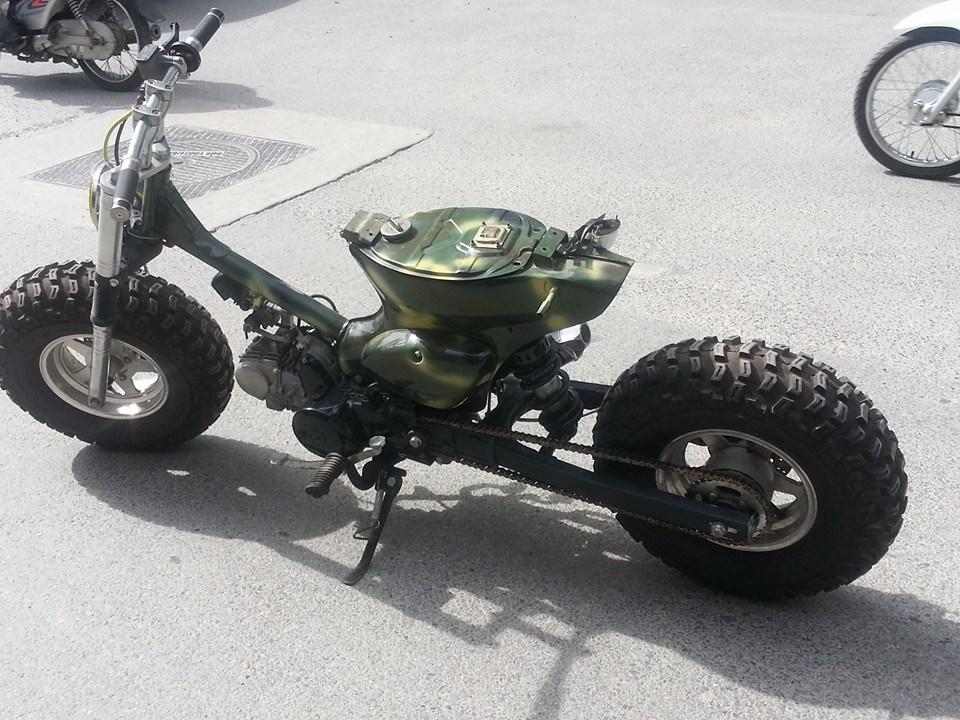 Cub do nhung phien ban an tuong cua Minibike Trung Khanh HN - 3