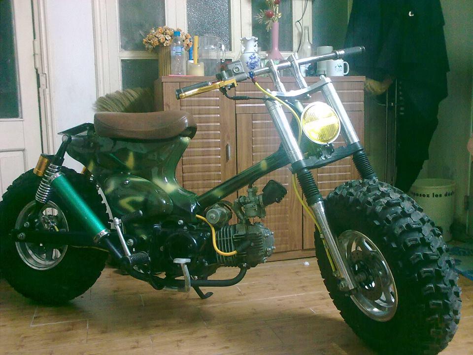 Cub do nhung phien ban an tuong cua Minibike Trung Khanh HN - 4