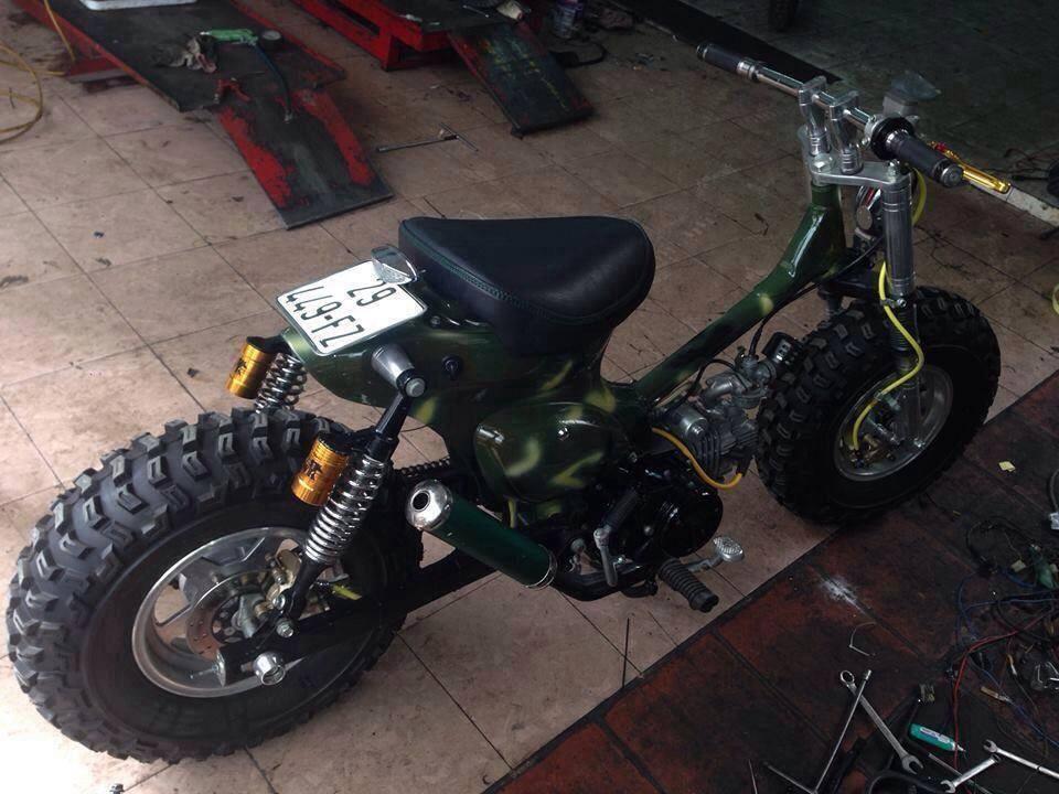 Cub do nhung phien ban an tuong cua Minibike Trung Khanh HN - 5