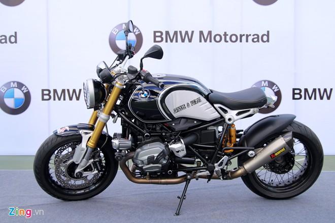 Dan moto BMW R NineT hoi tu ve Vietnam Motorbike Festival 2015 - 4