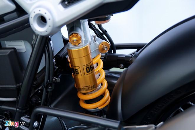 Dan moto BMW R NineT hoi tu ve Vietnam Motorbike Festival 2015 - 6