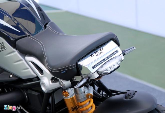Dan moto BMW R NineT hoi tu ve Vietnam Motorbike Festival 2015 - 8