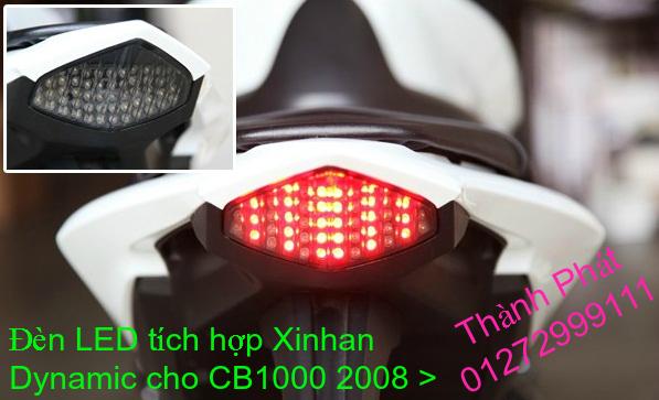 Xinhan kieu Rizoma Barracuda OXFORD cho xe PKL va xe Nho Den LED kieu den Xenon Domi Bong OSR - 27