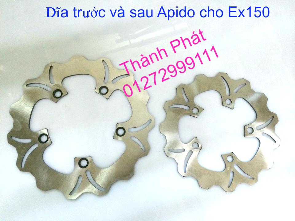 Dia kieu Thai dia Phay CNC YA Z CBR Biker Galfer ARASHI MegaPro Malossi Breaking NCY Ap - 4