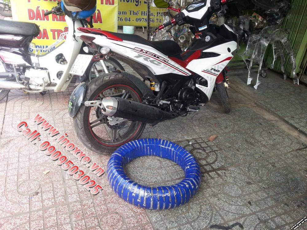 Do choi Exciter 150 Duoi ca CNC Lop sau Michelin Chan bun truoc indo - 5