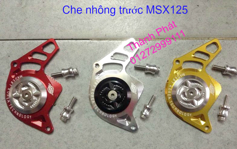 Do choi Honda MSX 125 tu A Z Po do Kinh gio Mo cay Chan bun sau de truoc Ducati Khung suo - 10