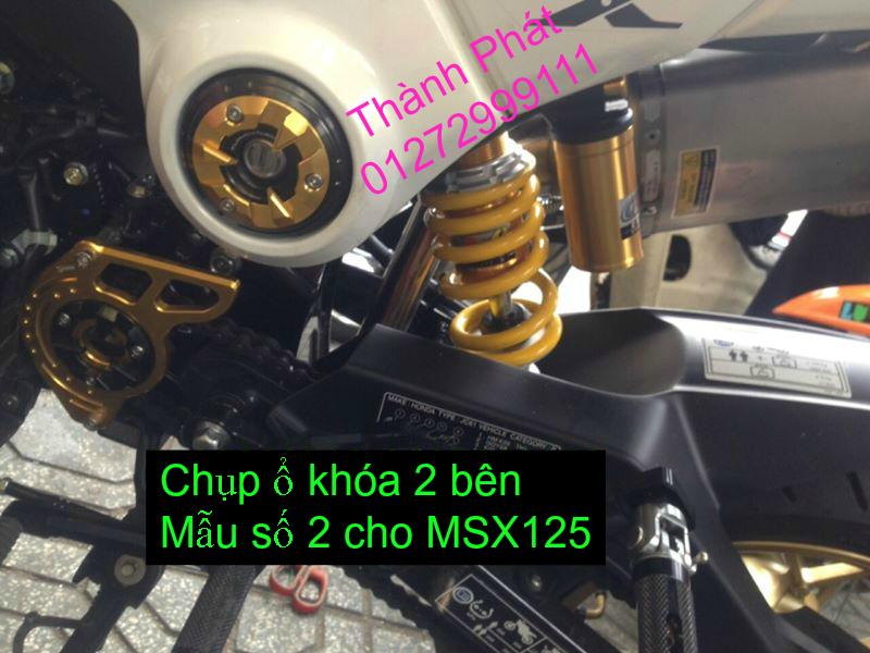 Do choi Honda MSX 125 tu A Z Po do Kinh gio Mo cay Chan bun sau de truoc Ducati Khung suo - 39