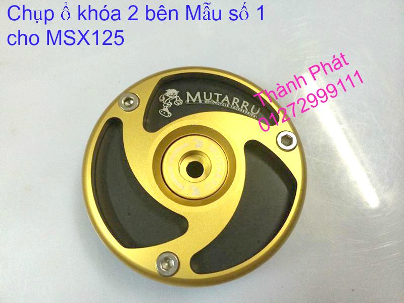 Do choi Honda MSX 125 tu A Z Po do Kinh gio Mo cay Chan bun sau de truoc Ducati Khung suo - 35