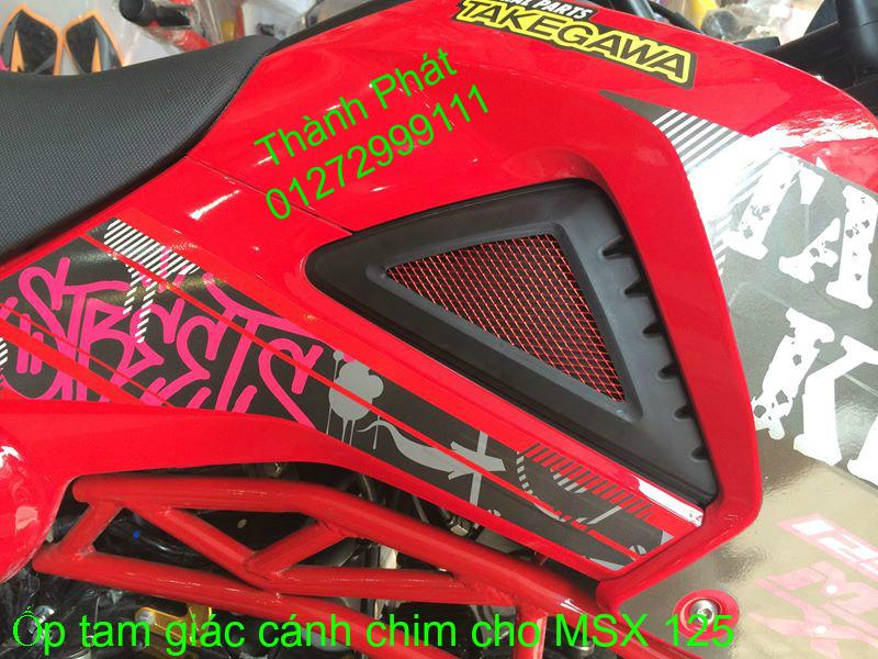 Do choi Honda MSX 125 tu A Z Po do Kinh gio Mo cay Chan bun sau de truoc Ducati Khung suo - 50