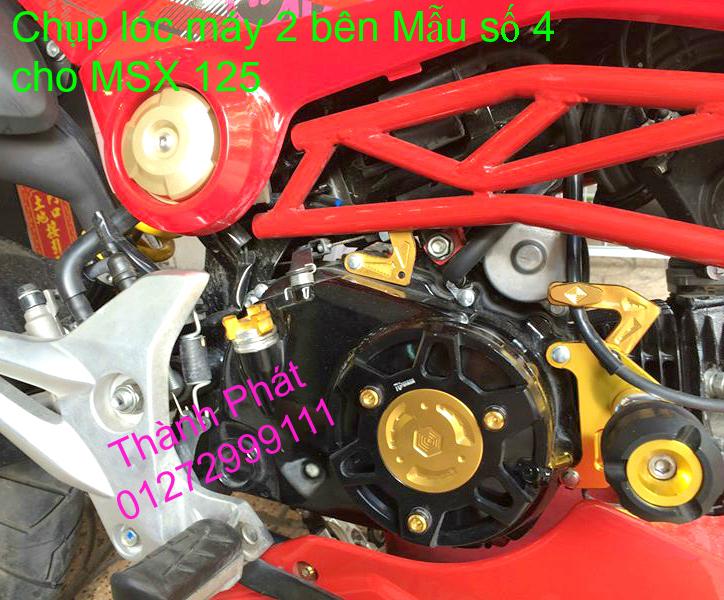 Do choi Honda MSX 125 tu A Z Po do Kinh gio Mo cay Chan bun sau de truoc Ducati Khung suo - 27