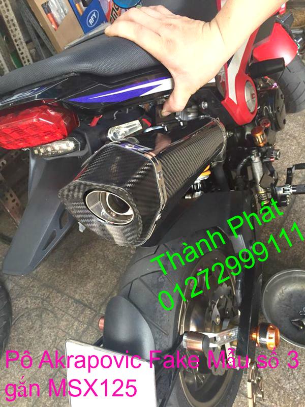 Do choi Honda MSX 125 tu A Z Po do Kinh gio Mo cay Chan bun sau de truoc Ducati Khung suo - 34