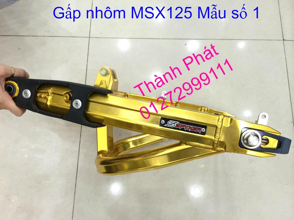 Do choi Honda MSX 125 tu A Z Po do Kinh gio Mo cay Chan bun sau de truoc Ducati Khung suo - 25
