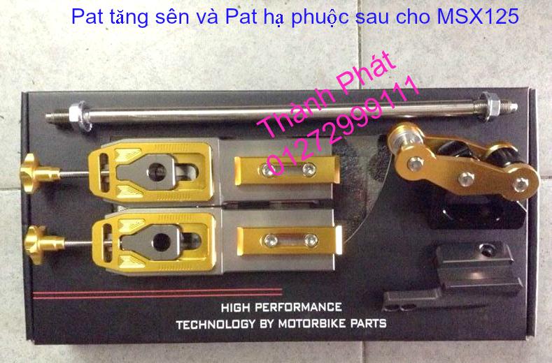 Do choi Honda MSX 125 tu A Z Po do Kinh gio Mo cay Chan bun sau de truoc Ducati Khung suo - 28