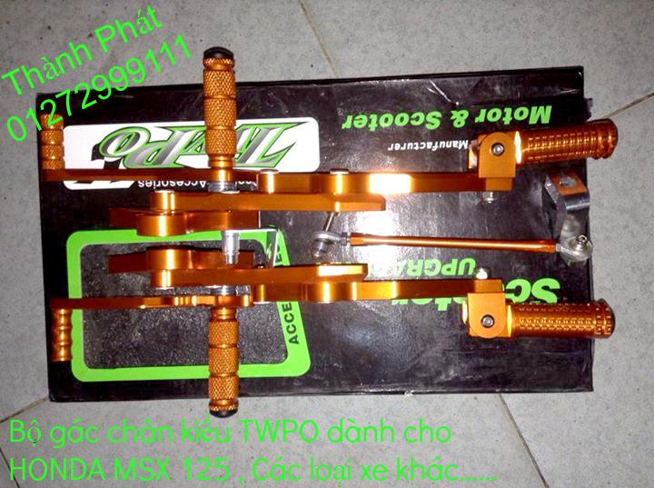 Do choi Honda MSX 125 tu A Z Po do Kinh gio Mo cay Chan bun sau de truoc Ducati Khung suo - 8