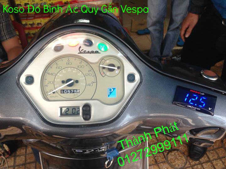 Dong ho KOSO Mio Dream SH X1R Ex 2013 2010 RX1N RX2 RX2N Koso DB03R DH Vapor va Minif - 6