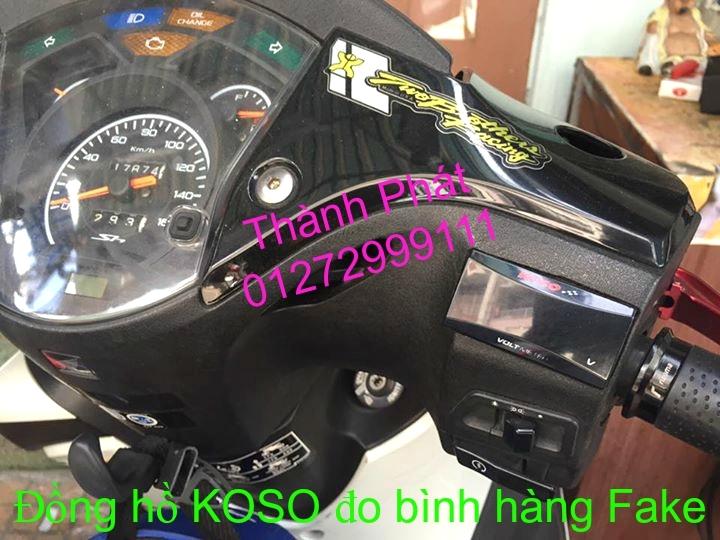 Dong ho KOSO Mio Dream SH X1R Ex 2013 2010 RX1N RX2 RX2N Koso DB03R DH Vapor va Minif - 9