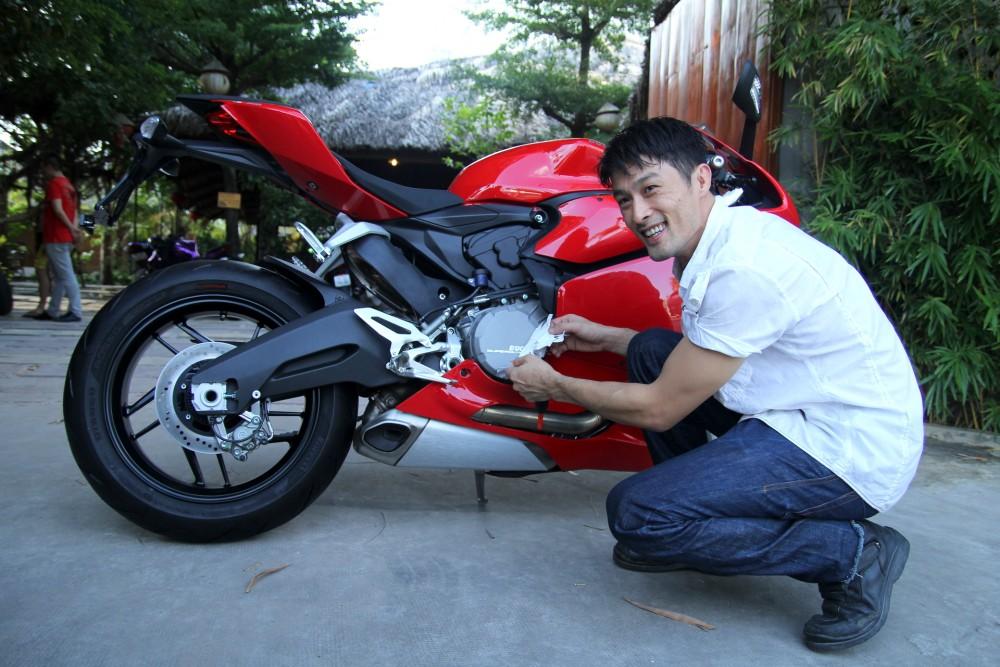 Ducati 899 Panigale vua moi sam cua Johnny Tri Nguyen