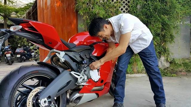 Ducati 899 Panigale vua moi sam cua Johnny Tri Nguyen - 3