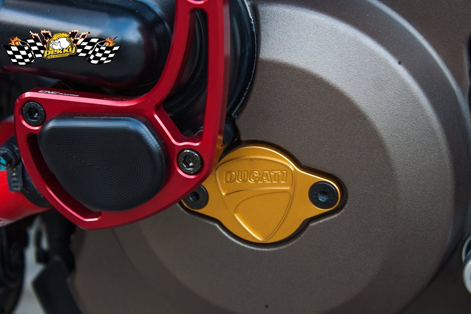 Ducati Monster 821 do chat choi voi nhung mon do choi xa xi - 15