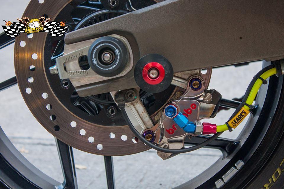 Ducati Monster 821 do chat choi voi nhung mon do choi xa xi - 18