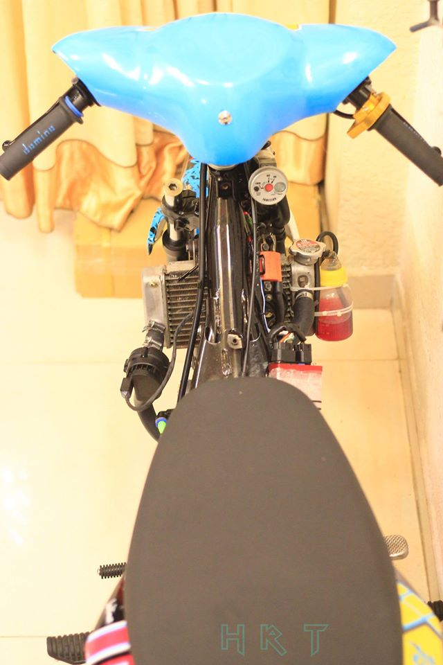 Exciter 135 phien ban do che ham ho mang phong cach manh me - 3