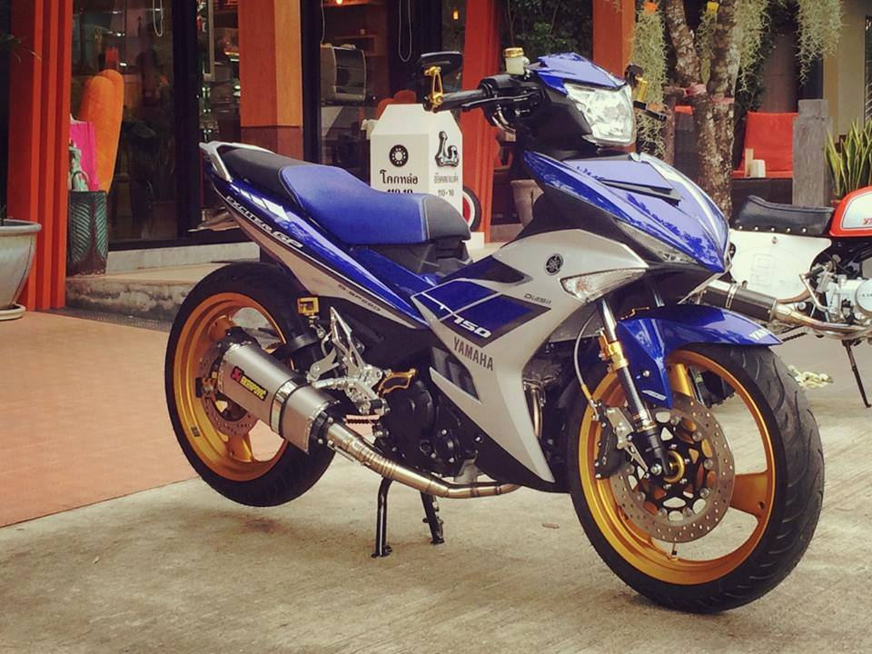 Exciter 150 Do doc voi dan chan khung - 4