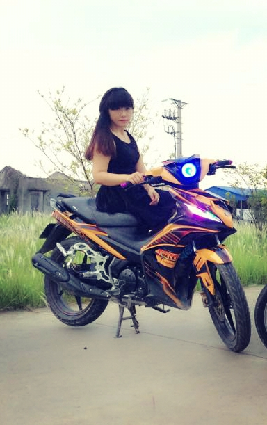 Exciter do nhe nhang cua tv CLB Exciter An Lao - 4
