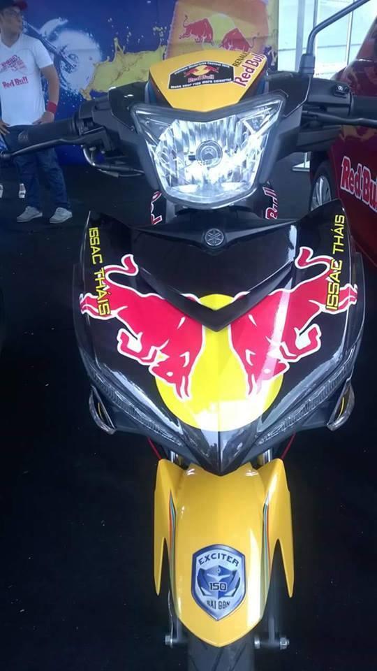 Exciter phien ban Redbull tai viet nam Motorbike Festival 2015