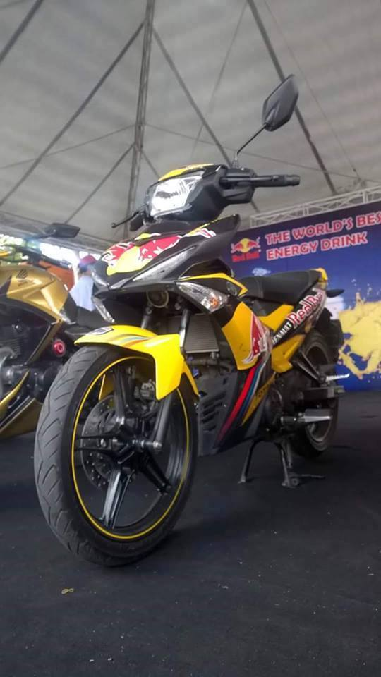 Exciter phien ban Redbull tai viet nam Motorbike Festival 2015 - 2