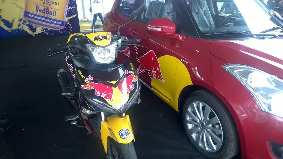 Exciter phien ban Redbull tai viet nam Motorbike Festival 2015 - 3