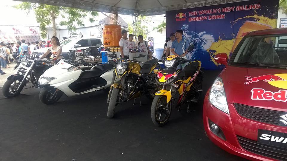 Exciter phien ban Redbull tai viet nam Motorbike Festival 2015 - 4