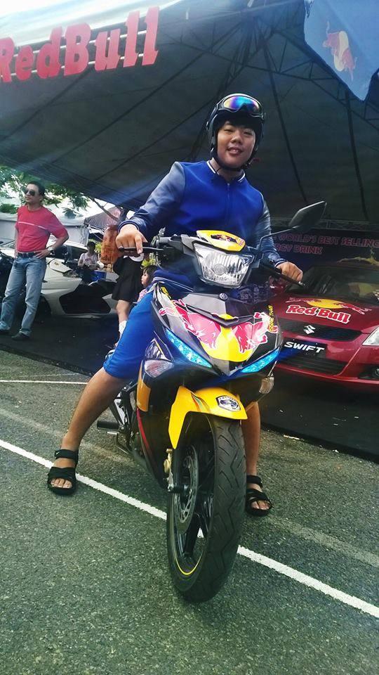 Exciter phien ban Redbull tai viet nam Motorbike Festival 2015 - 5