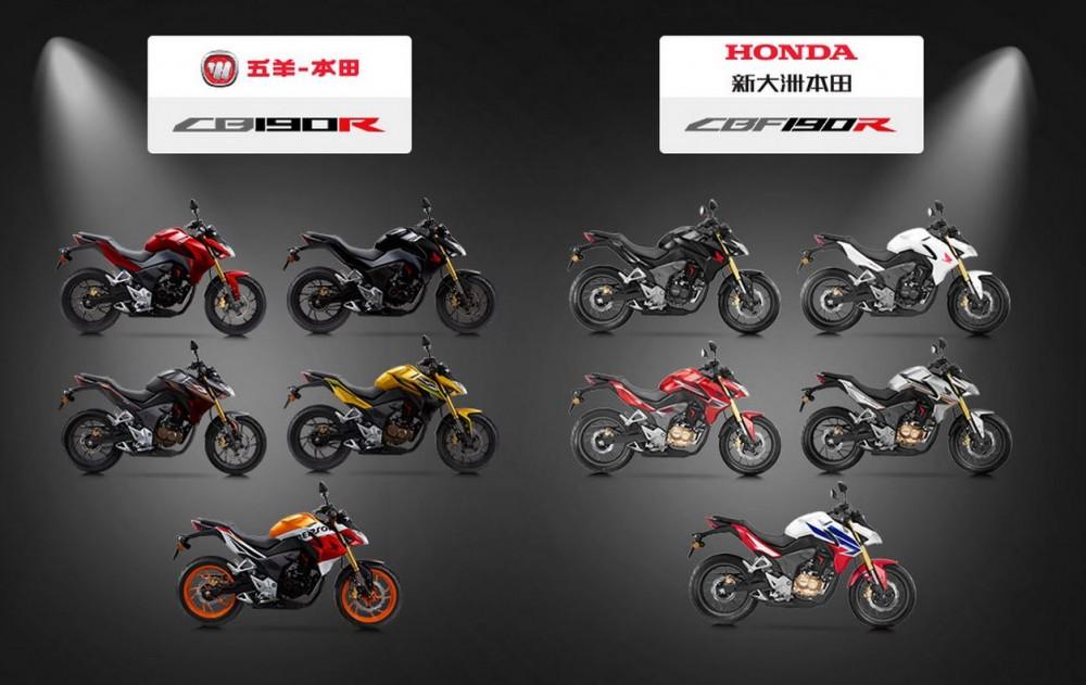 Honda CB190R CBF190R chinh thuc ra mat thi truong - 21