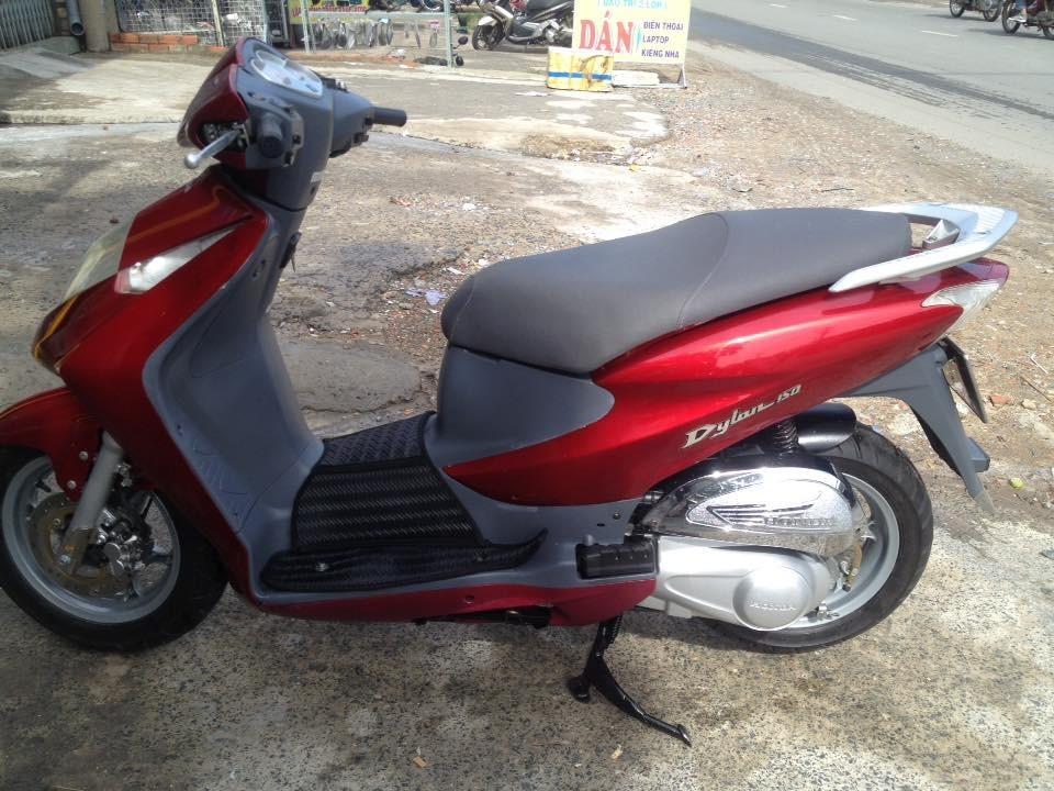 Honda Dylan 150 mau do xe nhap 2003 bstp chinh chu - 5