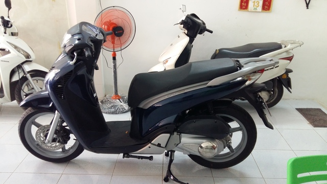 Honda Sh150i xanh tiger dk 12010 bstp - 3