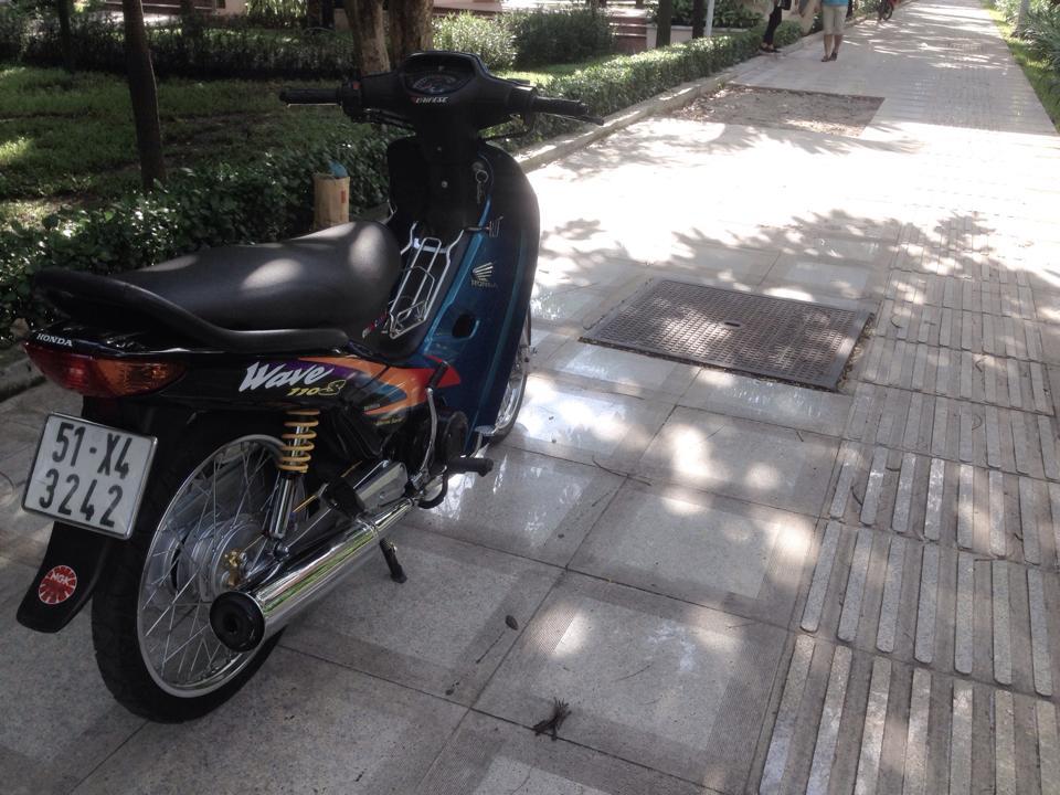Honda Wave S110 con xe thailan don lai van khong loi thoi - 3