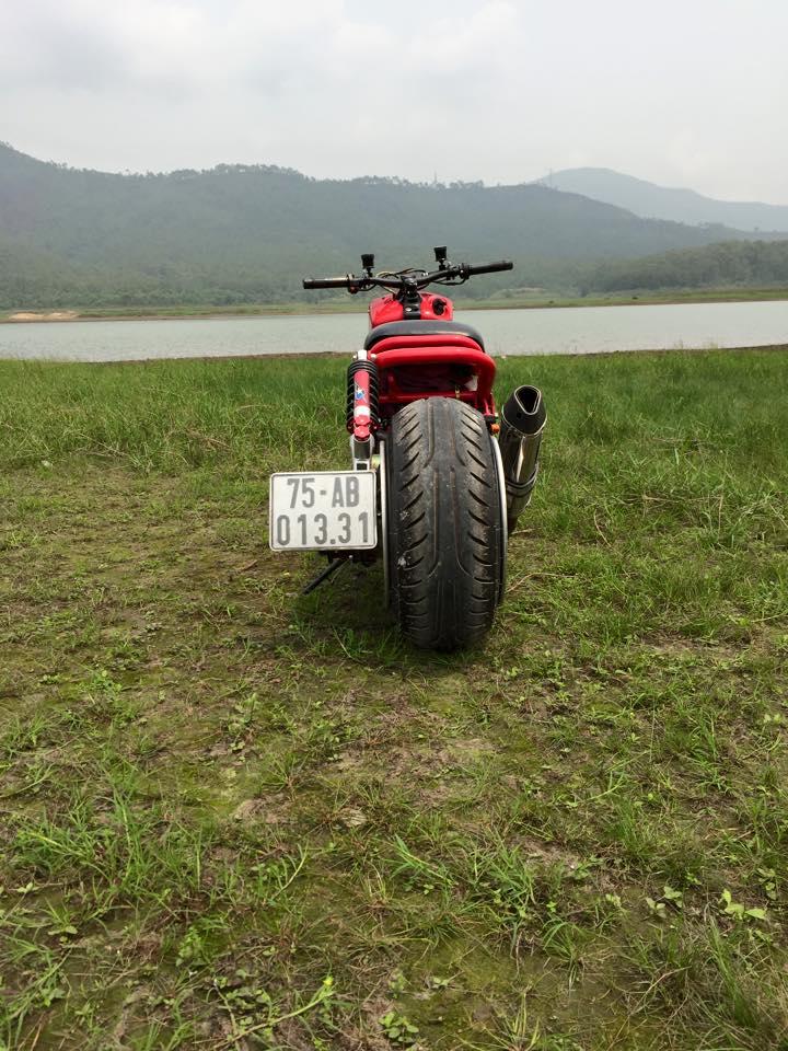 Honda ZoomerX mau xe scooter do ham ho - 3