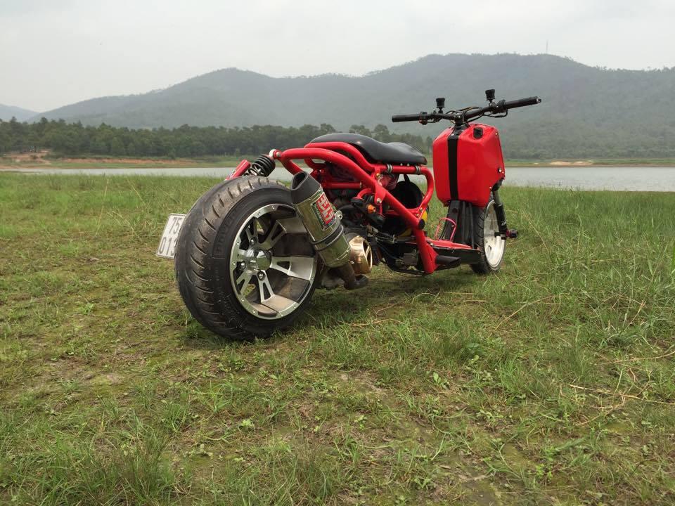 Honda ZoomerX mau xe scooter do ham ho - 4