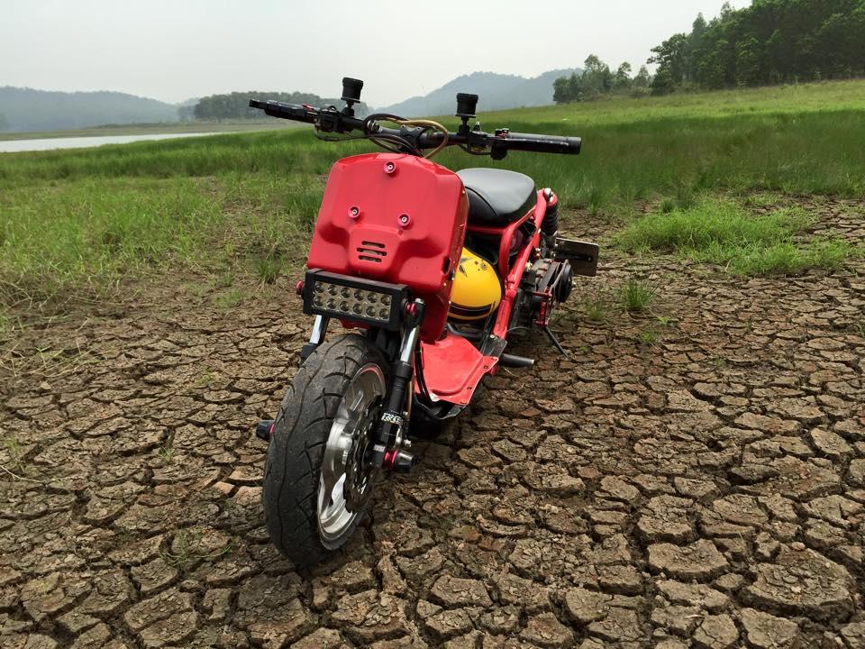 Honda ZoomerX mau xe scooter do ham ho - 6