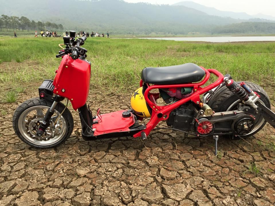 Honda ZoomerX mau xe scooter do ham ho - 7