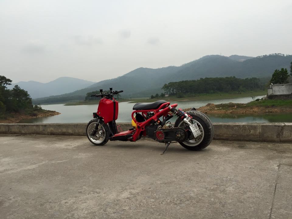 Honda ZoomerX mau xe scooter do ham ho - 8