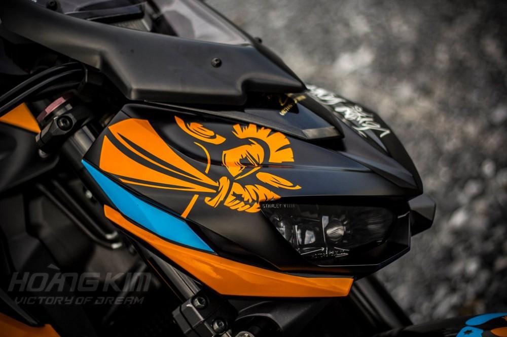Kawasaki Z1000 dep an tuong voi phien ban Lorenzo Knight - 4